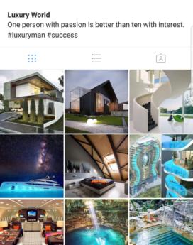 Luxury Instagram account sale