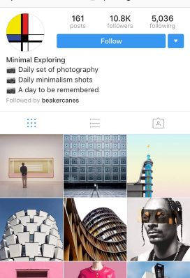 instagram account photography