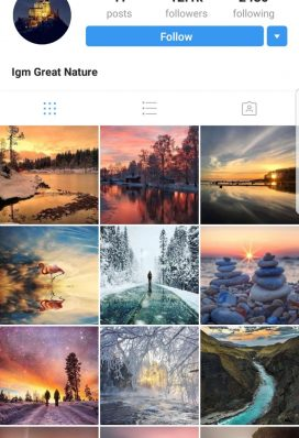 travel instagram account buy