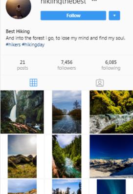 photography instagram account