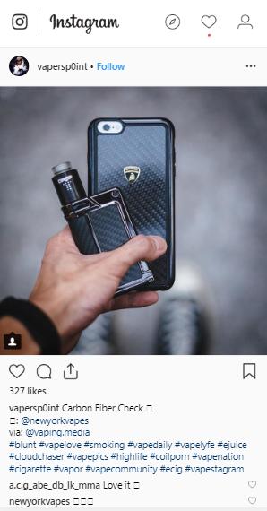 vape instagram account