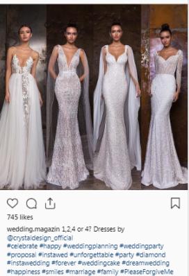 wedding instagram account